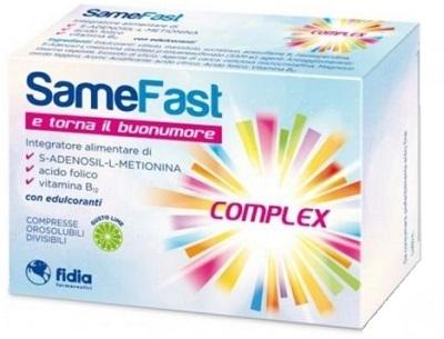 SAMEFAST UP COMPLEX 20 COMPRESSE OROSOLUBILI DIVISIBILI