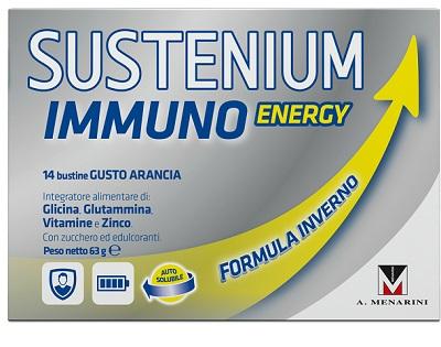 SUSTENIUM IMMUNO ENERGY 14 BUSTINE DA 4,5 G