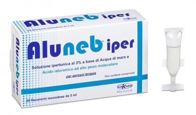ALUNEB SOLUZIONE IPERTONICA 20 FLACONCINI MONODOSE DA 5 ML
