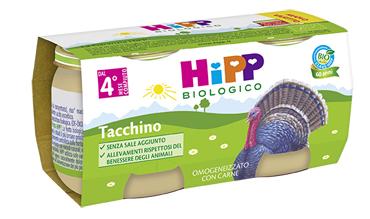 HIPP BIO HIPP BIO OMOGENEIZZATO TACCHINO 2X80 G