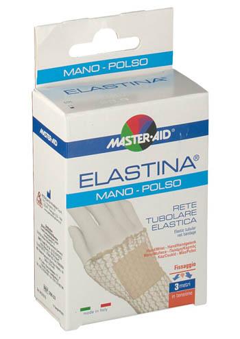 RETE TUBOLARE ELASTICA IPOALLERGENICA MASTER-AID ELASTINA MANO/POLSO 3 MT IN TENSIONE CALIBRO 3 CM