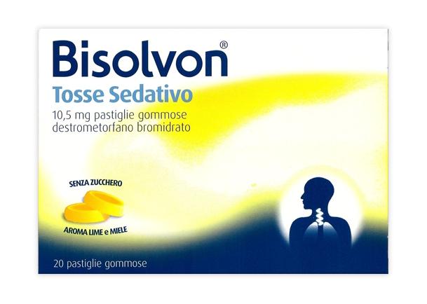 BISOLVON TOSSE SED*20PAST 10,5