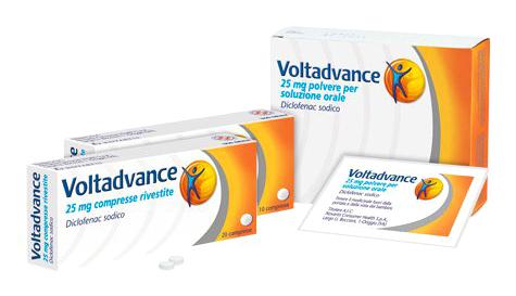 VOLTADVANCE*10CPR RIV 25MG