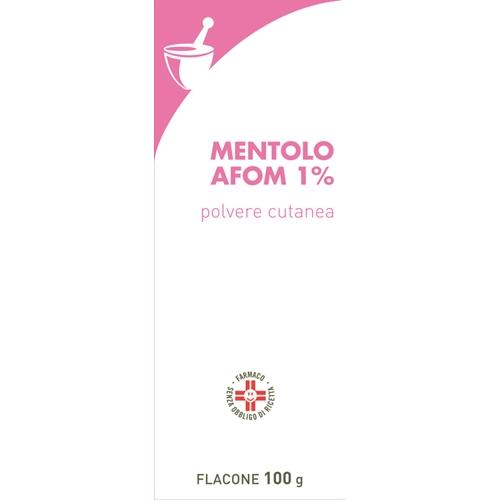 MENTOLO FARM*1% 100G POLV CUT