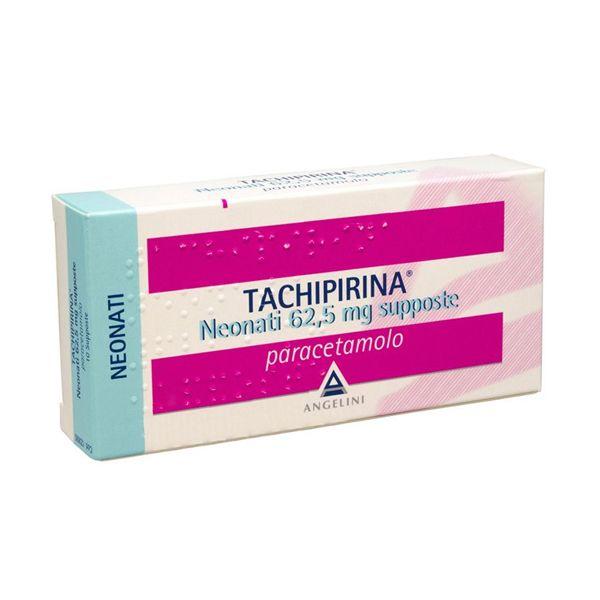 TACHIPIRINA*NEO 10SUPP 62,5MG