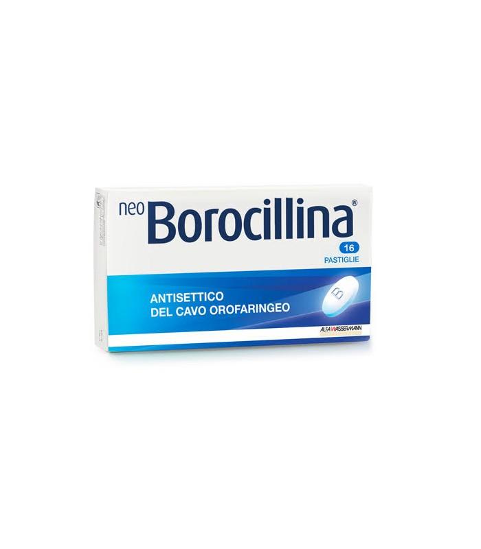 NEOBOROCILLINA*16PAST 1,2+20MG