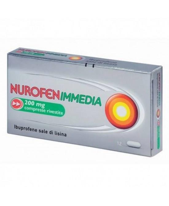 NUROFENIMMEDIA*12CPR RIV 200MG