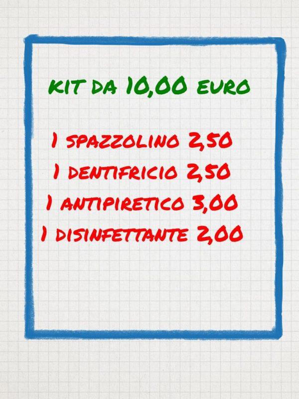 Banco farmaceutico kit10