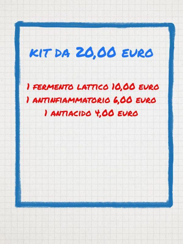 Banco farmaceutico Kit da 20 euro