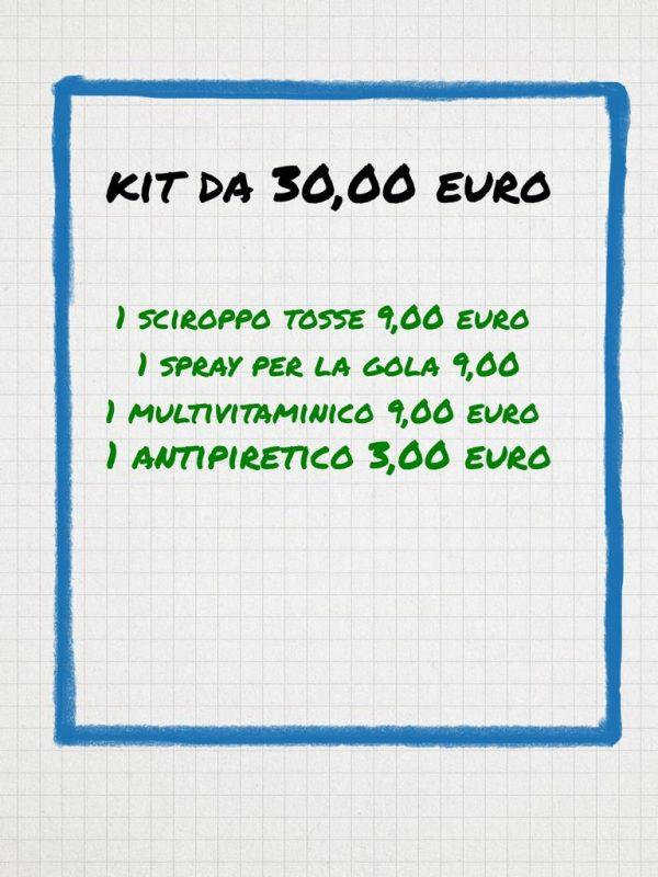 Banco Farmaceutico Kit da 30 euro